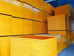 厂家批发胶合木板建筑覆膜板建筑模板胶合板