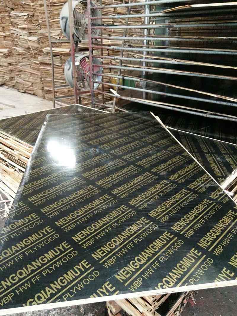 8层覆膜建筑模板