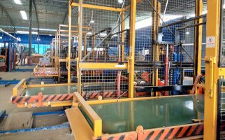 有没有戒赌所模板生产设备-排板流水线