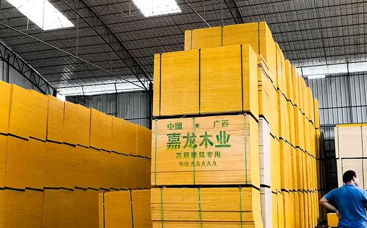 建筑木胶板厂家嘉龙模板厂