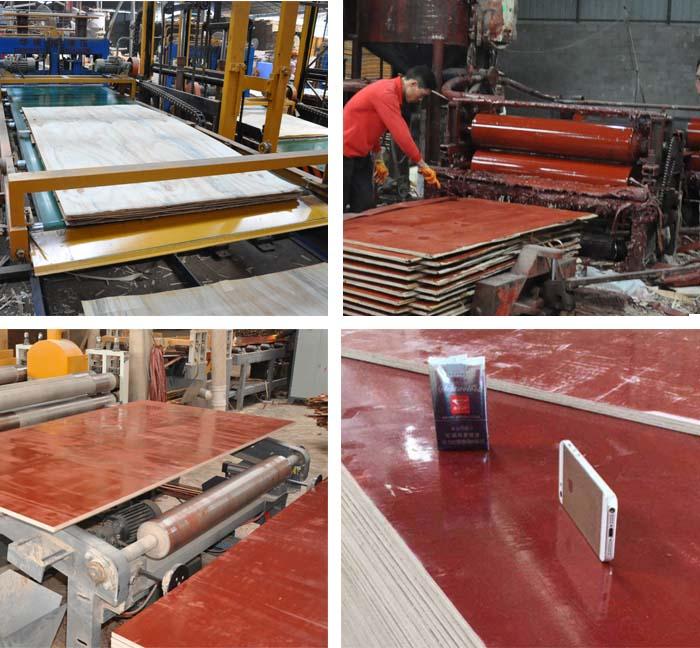 木胶板生产流程