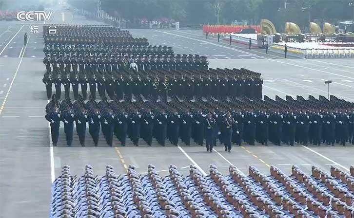 70周年阅兵仪式