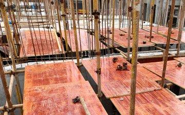 工地一栋楼需要多少张建筑木胶板?